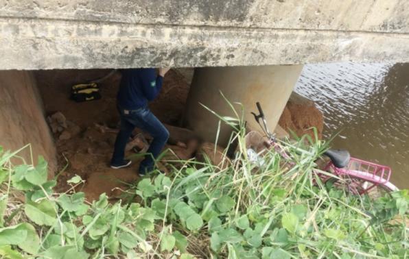 ARIQUEMES: Corpo é encontrado sob a ponte rio Tabapuã na BR-421