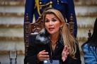 Presidente interina da Bolívia diz que anunciará eleições