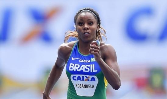 Atletismo: Rosângela Santos leva ouro na França em competição indoor